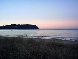 Wynyard, Tasmania - Table Cape as seen at dusk