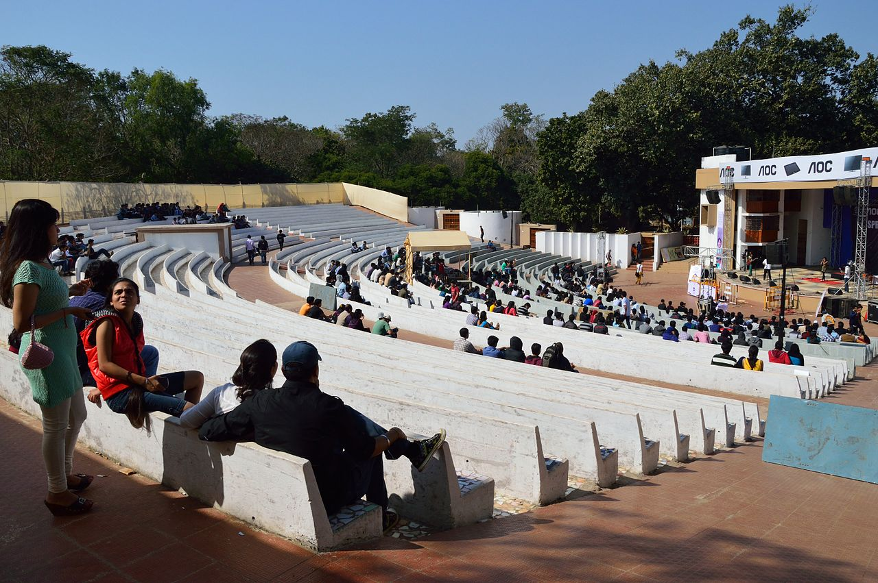 File:Tagore Open Air Theatre - Indian Institute of ...
