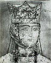 La reina Tamar de Georgia