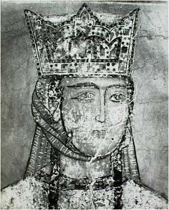 Tamar's fresco at Betania