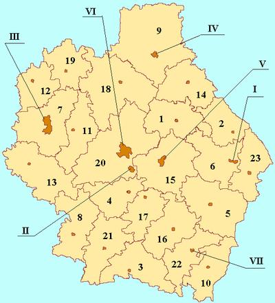 деление Тамбовской области
