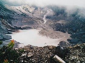Gunung Tangkuban Parahu Wikipedia Bahasa Indonesia Ensiklopedia Bebas