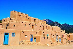 Taos Pueblo - Image: Taos Pueblo 082