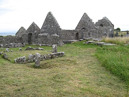 Na Seacht dTeampaill (The Seven Churches), Inis Mor Teampall Brecan - geograph.org.uk - 1471024.jpg