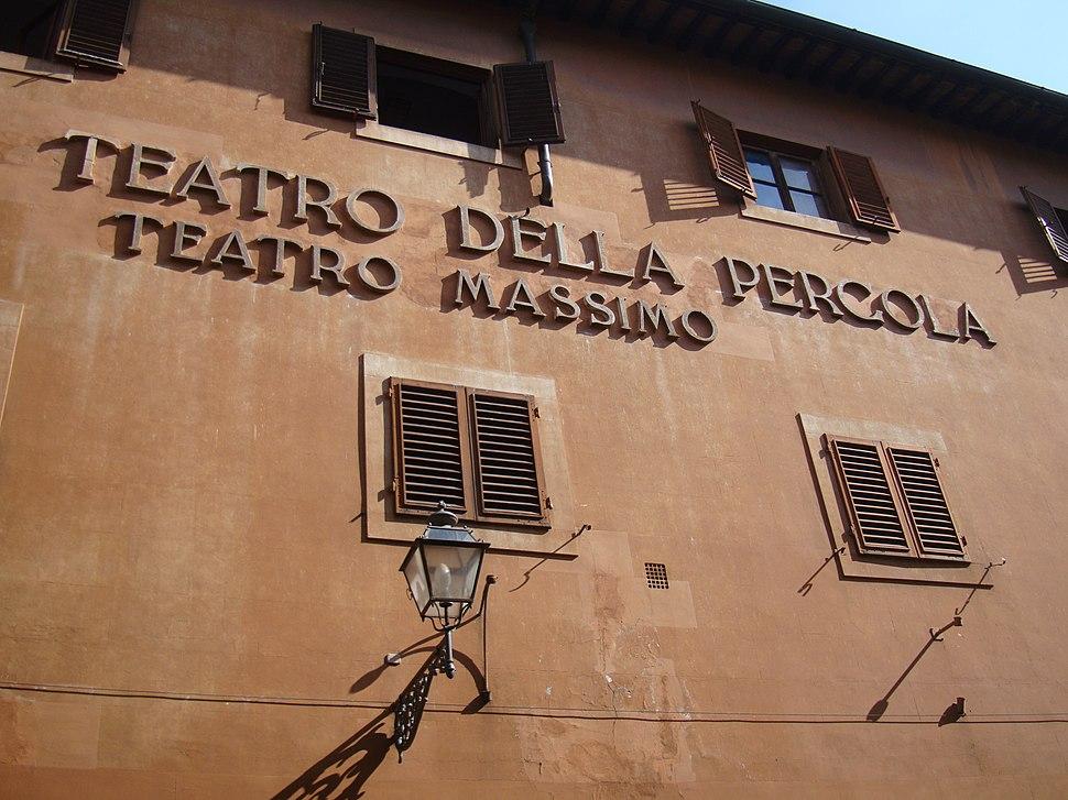Teatro della Pergola, Firenze 1