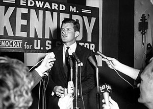 Ted Kennedy - First Senate campaign, 1962
