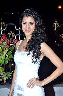 Tina Desai Indian actress