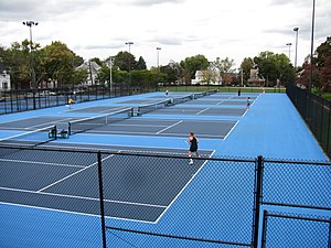 Tufts Jumbos - Tufts Tennis Courts