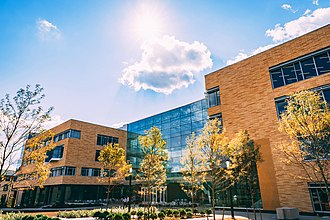 Tepper School of Business - The Tepper Quad building, the principal teaching facility at the Tepper School of Business.