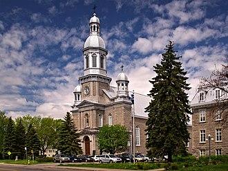 Terrebonne, Quebec - The Saint-Louis-de-France Church in Terrebonne