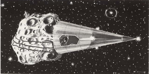 W. Patrick McCray - Image: Tethered asteroid