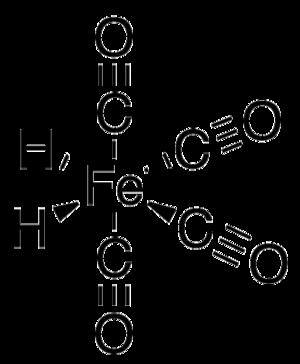 Iron tetracarbonyl hydride - Image: Tetracarbonyldihydro iron