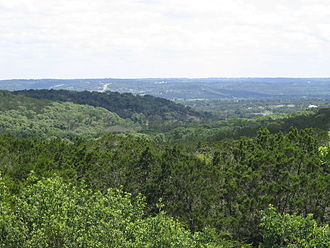 Texas Hill Country - Image: Texas Hill Country Near I 10, 2004