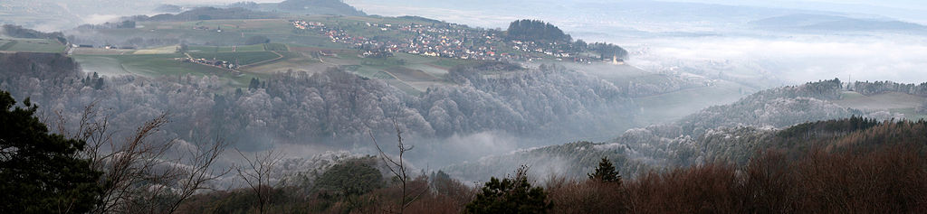 The Rhein Valley and Buchberg SH