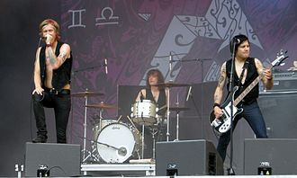 The (International) Noise Conspiracy - Image: The (International) Noice Conspiracy, Sonisphere 2009