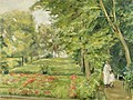 The Artist´s Granddaughter with her Governess in the Wannsee Garden (1923).jpg