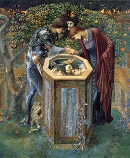 The Baleful Head by Edward Burne-Jones (1885)