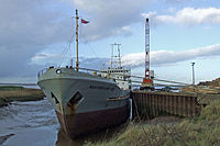 The Baltiyskiy-108 at Barrow Haven Timber Wharf - geograph.org.uk - 317217.jpg