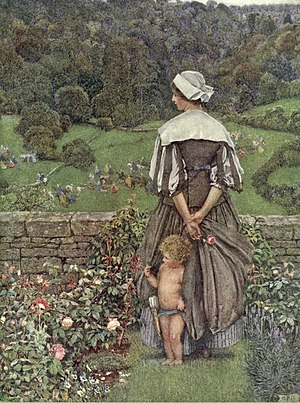 The Hue and Cry After Cupid - Illustration by Eleanor Fortescue-Brickdale