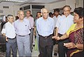 The Chief Election Commissioner Shri T.S Krishnamurthy visits Election Information Centre set up by Press Information Bureau for dissemination of General Electoin, 2004 results in New Delhi on May 12, 2004 (Wedenesday).jpg