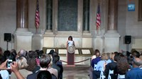 File:The First Lady Speaks at Naturalization Ceremony.webm