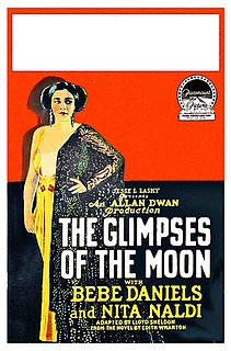 <i>The Glimpses of the Moon</i> (film) 1923 film by Allan Dwan