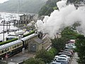 The Great Western leaving Kingswear - geograph.org.uk - 913654.jpg