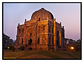 The Gumbad tomb at sunset (Lodhi garden) - Shot by Abhinay Pochiraju.jpg