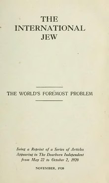 The International Jew - Volume 1.djvu