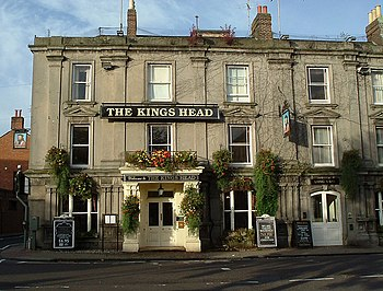 English: The Kings Head Hotel The Kings Head H...