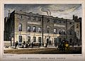 The Lock Hospital, Hyde Park Corner, Westminster. Engraving. Wellcome V0013805.jpg