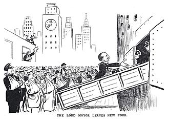 Alfie Byrne - The Lord Mayor Leaves New York