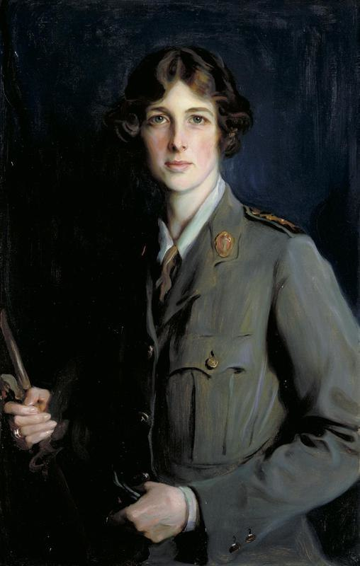 The Marchioness of Londonderry, Dbe, 1918 Art.IWMART3095
