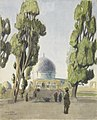 The Mosque of Omar - Indian sentries Art.IWMART1528.jpg