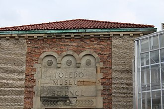 Toledo Zoo - What remains of the original Museum of Science - Currently under renovations