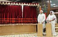 The Prime Minister, Shri Narendra Modi and the Prime Minister of Bangladesh, Ms. Sheikh Hasina at the Joint Unveiling of Foundation Stones, in Dhaka, Bangladesh on June 06, 2015.jpg