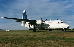 The West Australian - The West used this Fokker 27 in the mid-1990s to deliver its newspapers on a nightly flight from Perth to the north of Western Australia