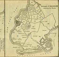 Brooklyn Neighborhoods With Subway Map.Brooklyn Wikipedia