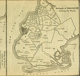 Brooklyn - Borough of Brooklyn wards, 1900