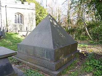 Llandygai - Wyatt family memorial at St. Tegais Church