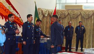 Bangladesh Air Force Academy - The certificate award ceremony of Bangladesh Air Force Academy graduates