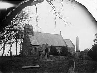 The church, Llanfihangel-yng-Ngwynfa