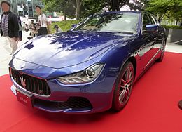 The frontview of maserati Ghibli III.JPG