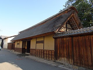 The gate of Ando-house Cultural Properties of Japan.JPG