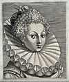 The head and shoulders of a woman who wears her hair in tigh Wellcome V0019858EL.jpg