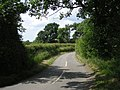 The lane between Mitton and Levedale - geograph.org.uk - 847689.jpg