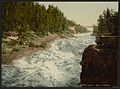 The rapids from the bridge, Imatra, Russia, (i.e., Finland)-LCCN2001697419.jpg