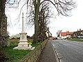 The war memorial in Dickleburgh - geograph.org.uk - 1774101.jpg