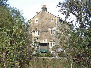 Grade II* listed buildings in Lancashire - Image: Thimble Hall, Edgworth