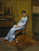Thomas Eakins - The Artist's Wife and His Setter Dog.jpg